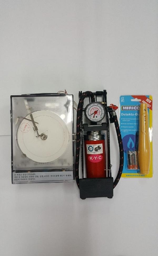 저울및분동 가스통고정대 가스2.3종등록장비
